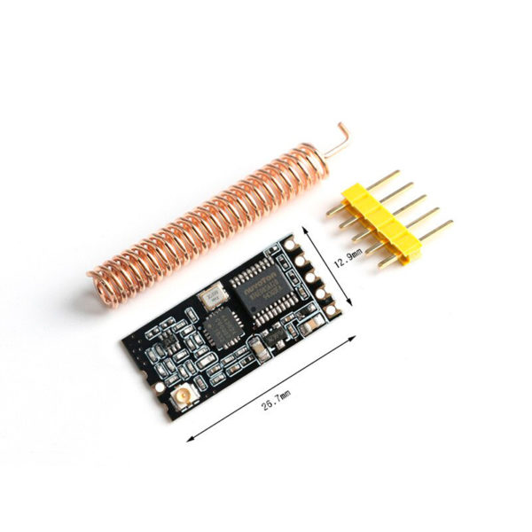 GT-38 - UART трансмиттер 433МГц на базе SI4438 / SI4463
