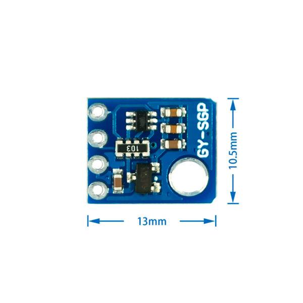 SGP30 - датчик измерения качества воздуха (TVOC + CO2)