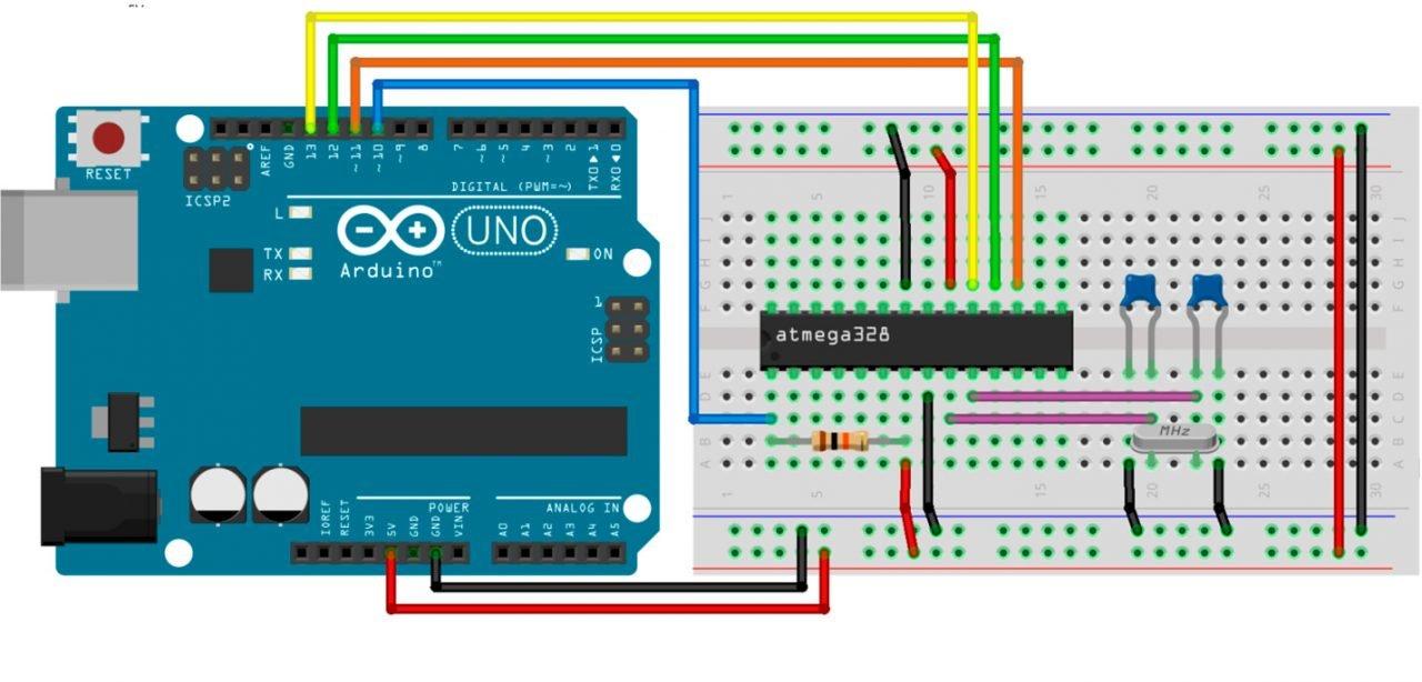 Собираем самодельный Arduino - Shrimp