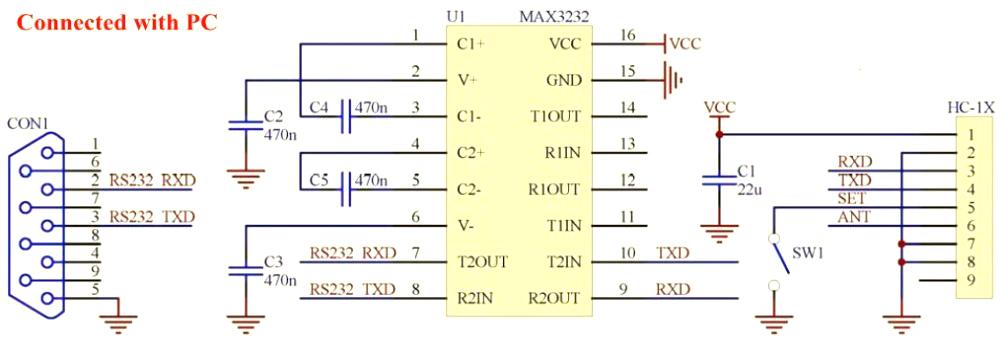 HC-12 (SI4463) - радиомодуль до 1000 м с антенной