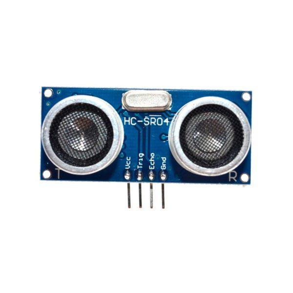 HC-SR04, ультразвуковой дальномер (датчик расстояния)