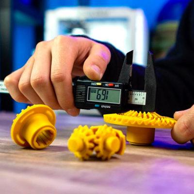 Пример 3D печати HIPS пластиком