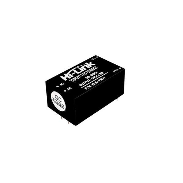 Понижающий преобразователь 220 В - 5 В HLK-PM01 AC-DC