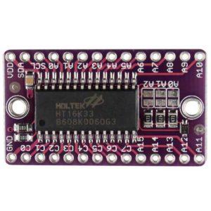 Драйвер светодиодной матрицы LED HT16K33