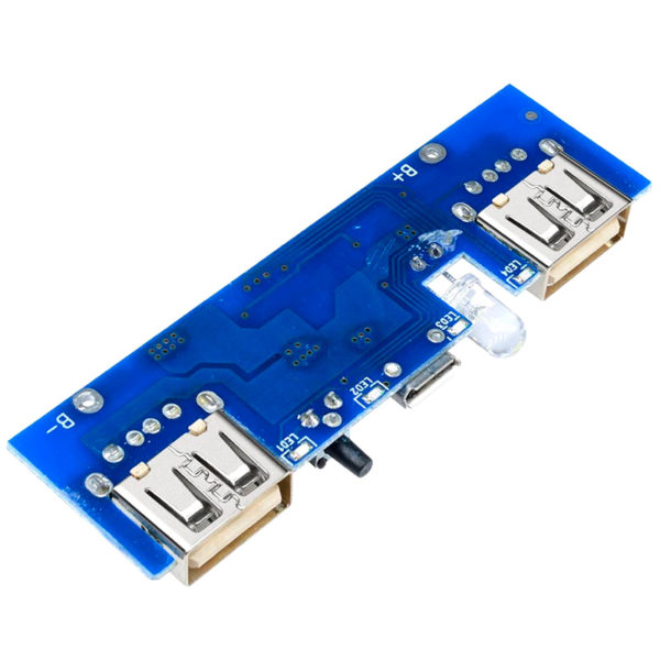 XZX-002H - Модуль Powerbank для зарядки Li-Pol АКБ 5В/1-2A