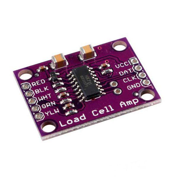 MCU-711, модуль 24-битного АЦП HX711 для тензодатчиков