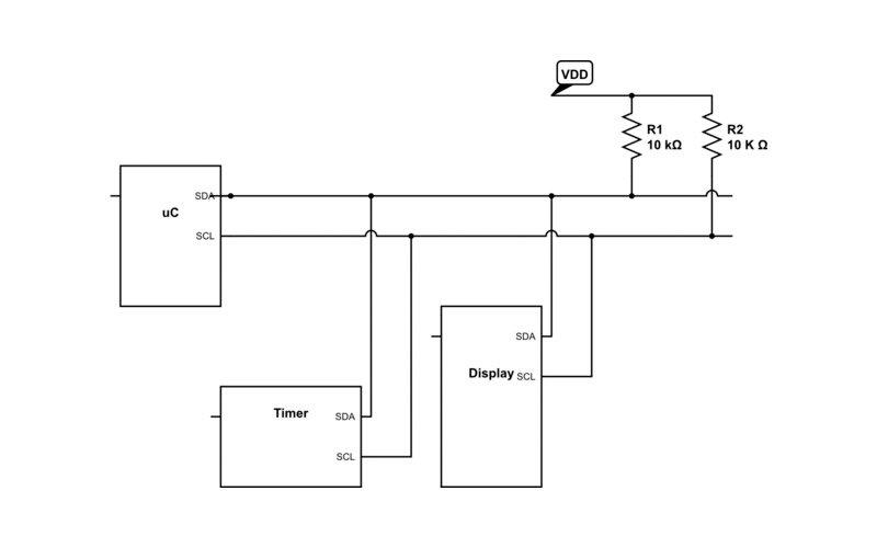 Интерфейс I2C в Arduino