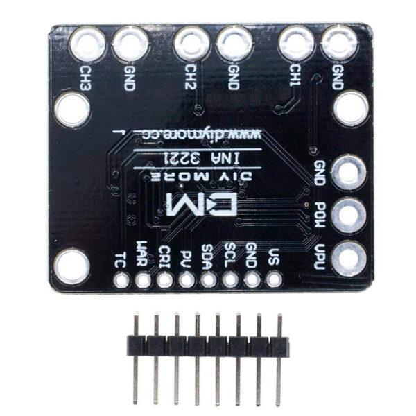 INA3221 — трёхканальный монитор тока и напряжения High-Side