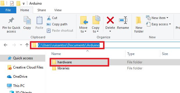 Установка ESP32 вArduino IDE (руководство для ОСWindows)