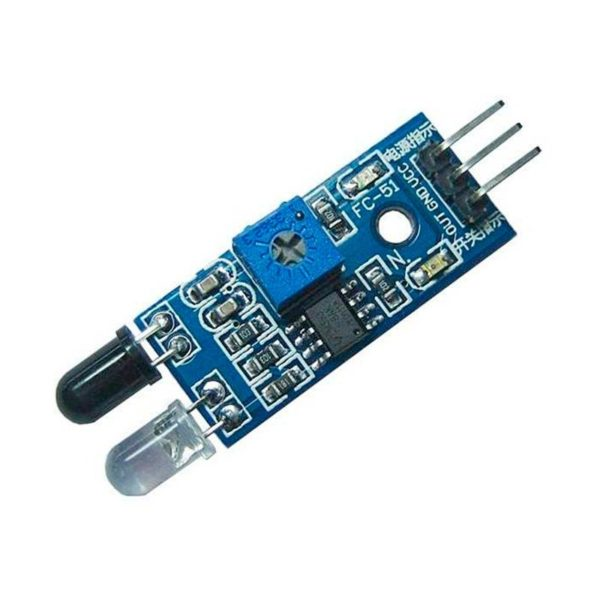 ИК-датчик препятствий для роботов-машин YL-63 (FC-51)