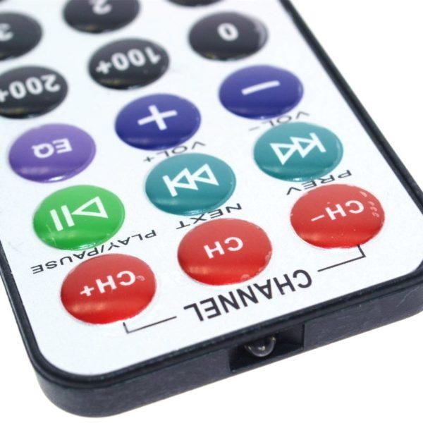 ИК пульт управления 38khz (21 кнопка)