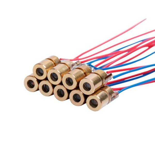 Лазерный диод (650 нм, 3 В, 6 мм, 5 мВт)