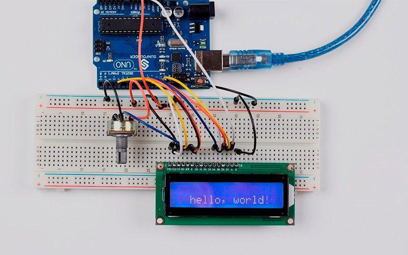 LCD 1602 – подключение к Arduino