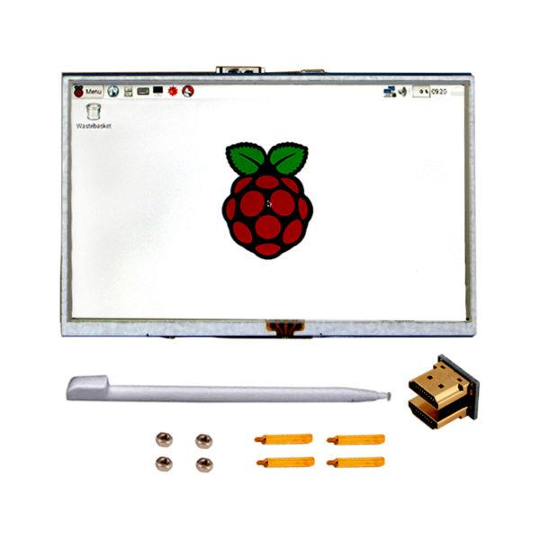 """Цветной графический TFT-дисплей 800×480px / 5"""" HDMI"""