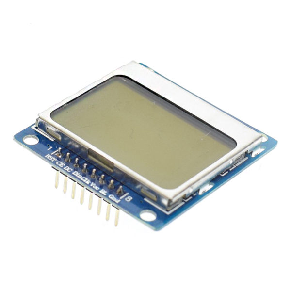 LCD дисплей Nokia 5110 84x84px SPI
