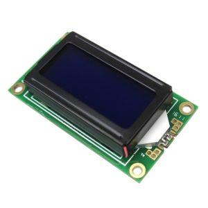 Символьный ЖК дисплей LCD802 8x2 (голубая подсветка)