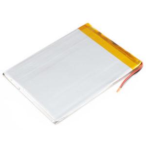 Li-pol 3.7V 3300 mAh (115×84×4мм) - пакетный Li-Pol аккумулятор