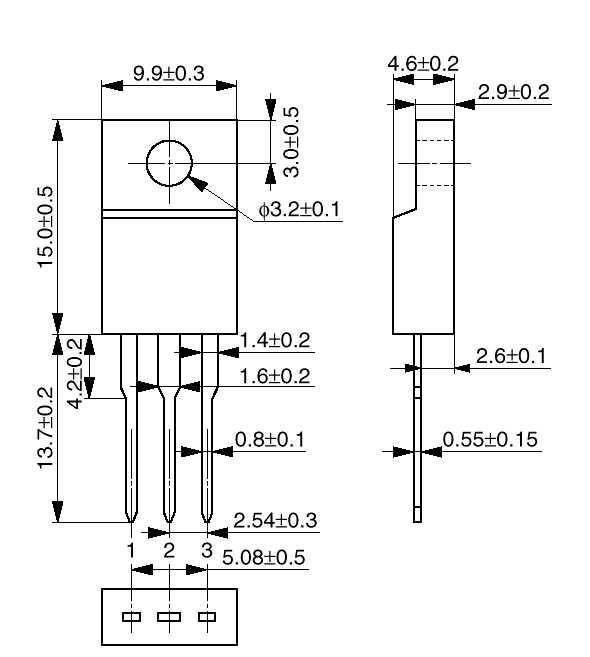 Стабилизатор напряжения LM1117T 3.3 В