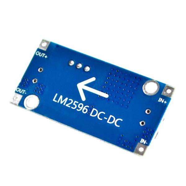 Понижающий преобразователь DC-DC LM2596S (голубой)