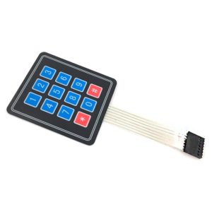 Мембранная клавиатура Matrix Keypad Switch 4x4