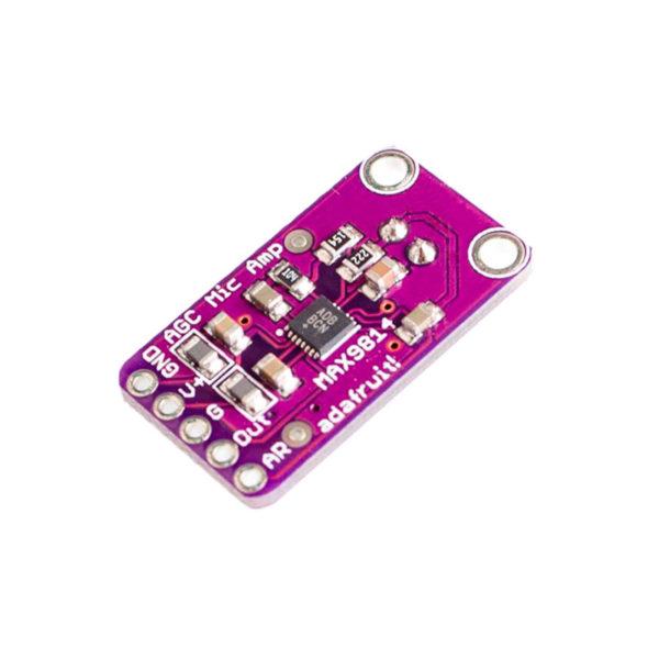 MAX9814 — модуль электретного микрофонного усилителя