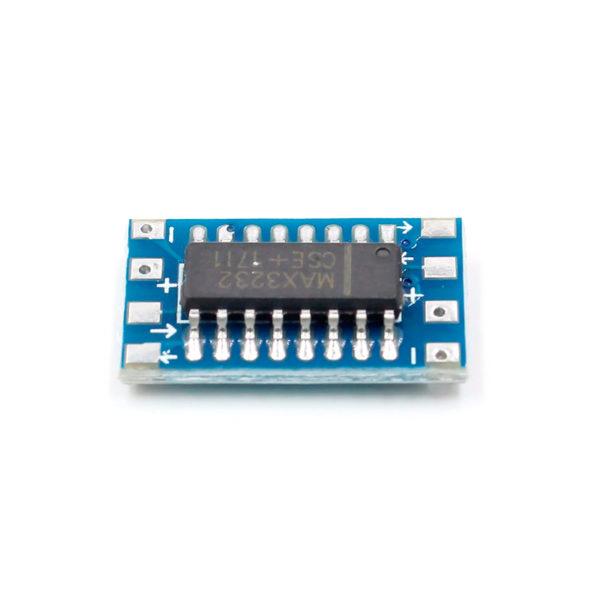 MAX3232 - конвертер RS232 - TTL