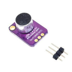 MAX4466 - модуль электретного микрофона с автоподстройкой чувствительности