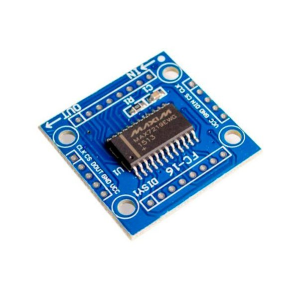 MAX7219 - модуль светодиодной матрицы 8x8 LED