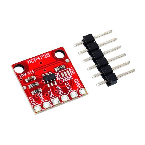 MCP4725 - цифро-аналоговый I2C преобразователь со встроенным EEPROM