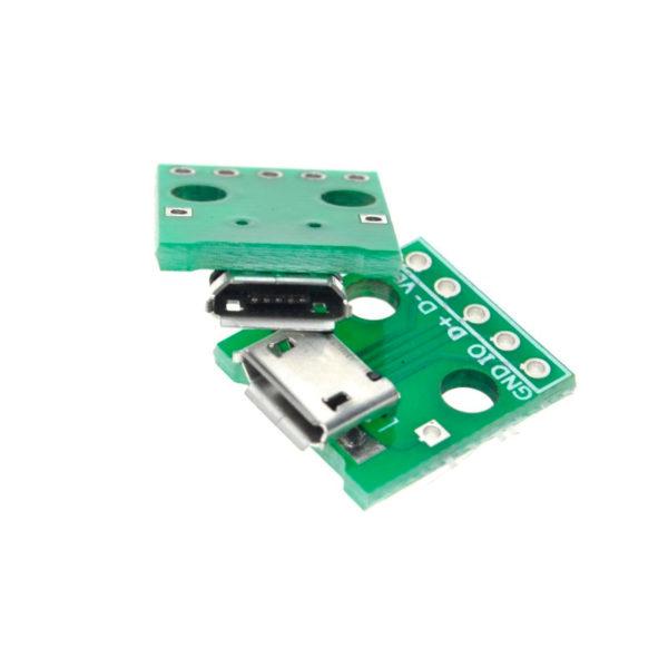 Переходник Micro USB - DIP (5 pin)