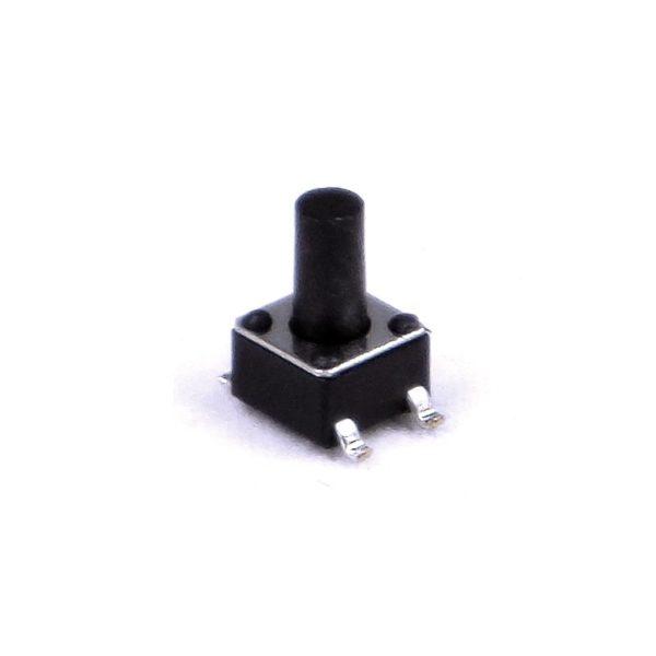 Миниатюрная тактовая кнопка SWT 4x4 - 7 SMD