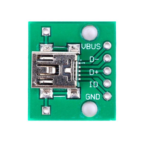 Переходник Mini USB - DIP (5 pin)