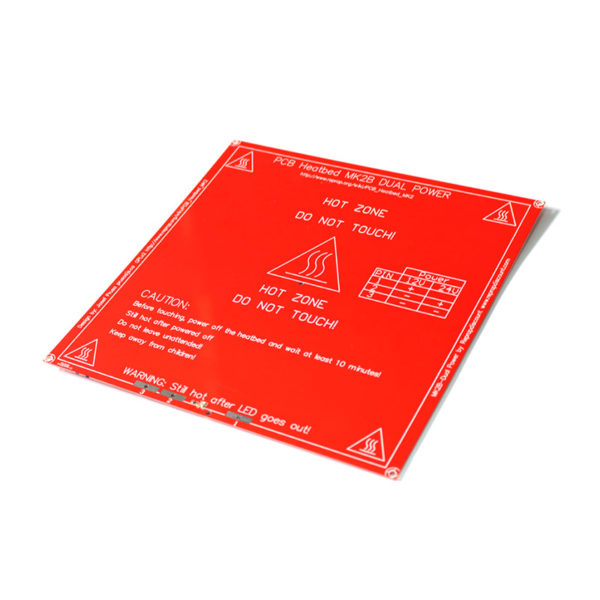 MK2B — нагревательный стол для 3D принтера