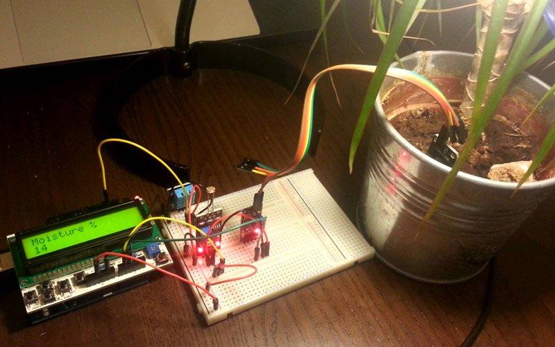 Автоматический полив на Arduino