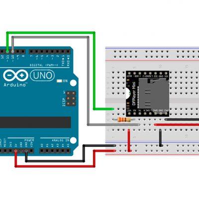 MP3 на базе DFPlayer Mini и Arduino