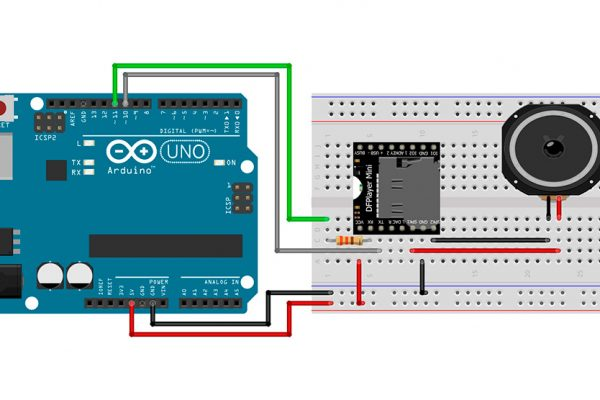MP3 на базе DFPlayer Mini и Arduino