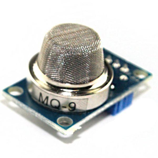 Датчик газа MQ-9 (угарный газ, углеводородные газы)