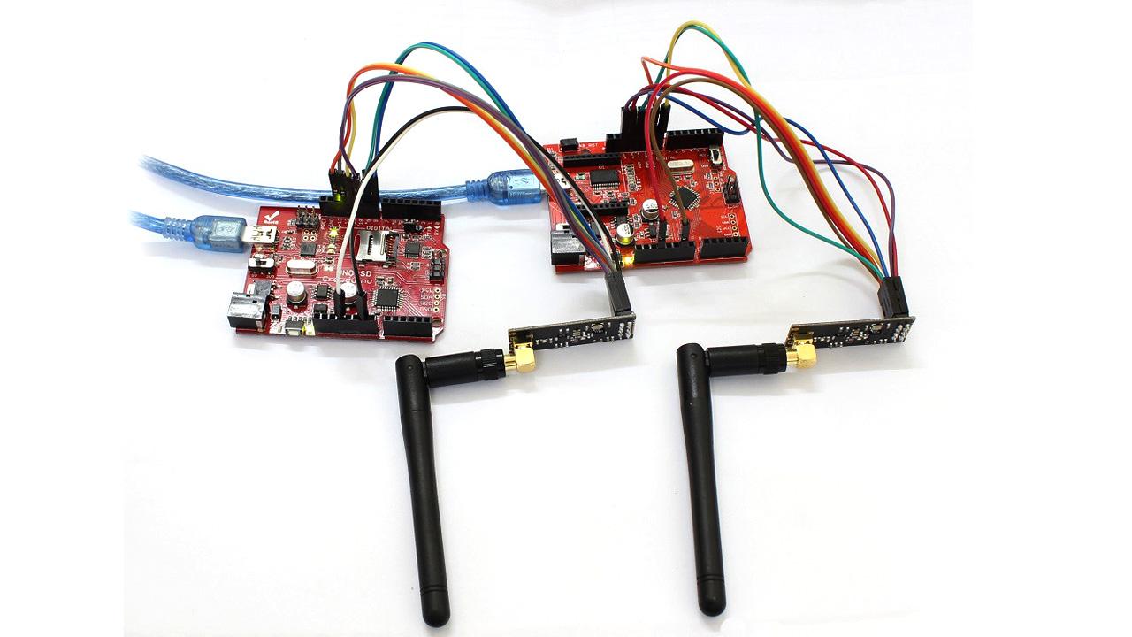 NRF24L01 - подключение к Arduino