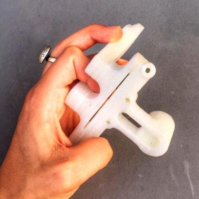 Пример 3D печати нейлоном (полиамидом)