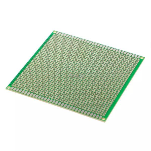 Односторонняя распаечная макетная плата 10x10 см, 1225 точек
