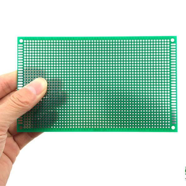 Односторонняя распаечная макетная плата 9x15 см, 1782 точек