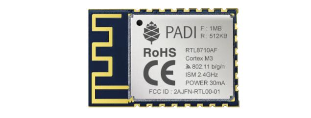 Установка PADI в Arduino IDE