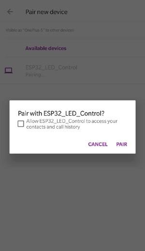 pairing_led_control
