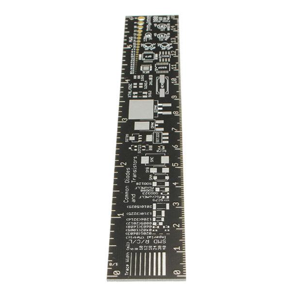 PCB Ruler - линейка для электронщика длиной 15 см