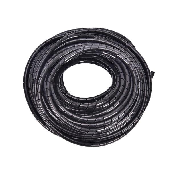Спираль монтажная черная 6 мм.
