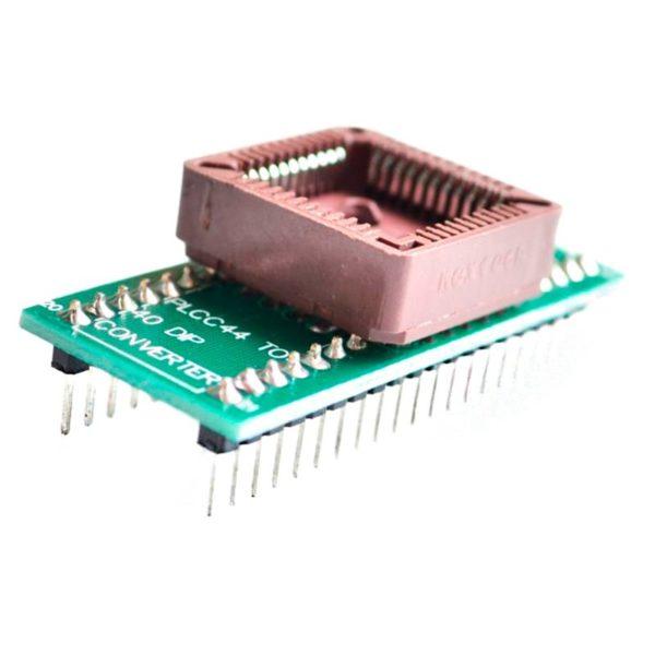 Адаптер PLCC44 to DIP40 EZ (программирование МК AVR)