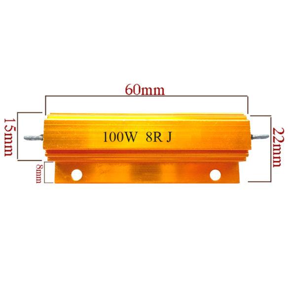 Резистор проволочный с радиатором