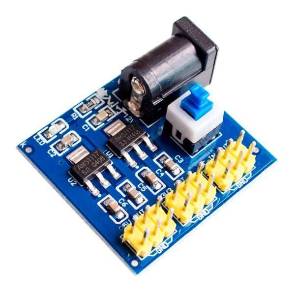 Компактный преобразователь 5 В, 3.3 В HW-DY02 DC-DC