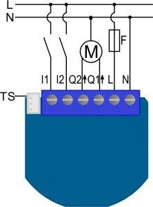 Qubino Shutter - управление электроприводами АС