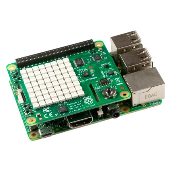 Raspberry Pi SENSE HAT - универсальная плата расширения